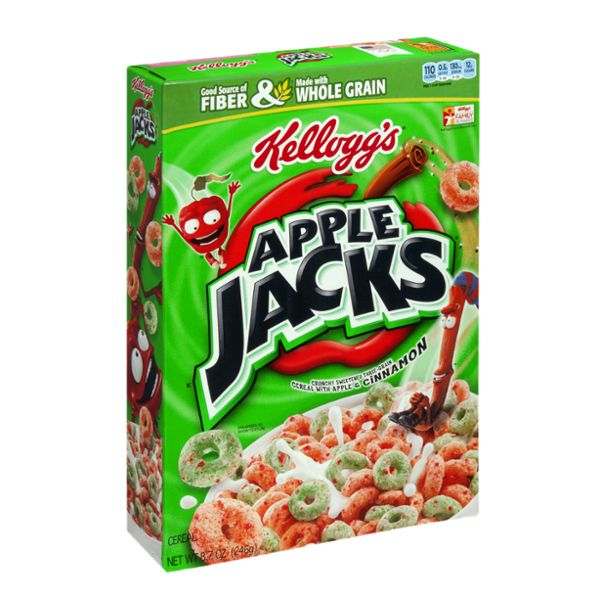 I'm learning all about Kellogg's Cereal Apple Jacks at @Influenster!
