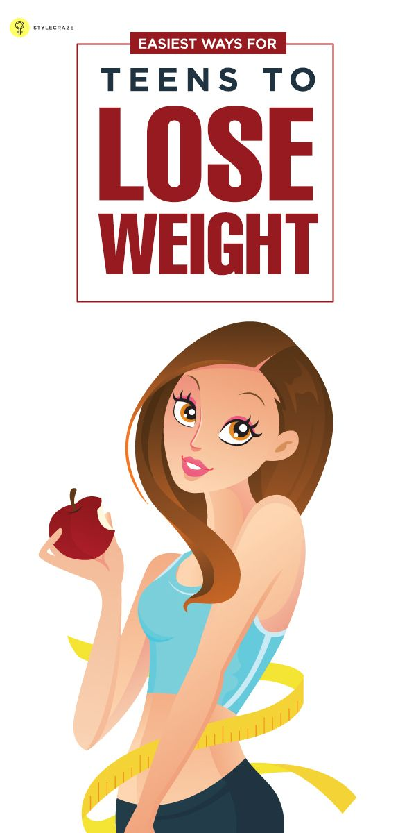 teenage girl workout routine lose weight