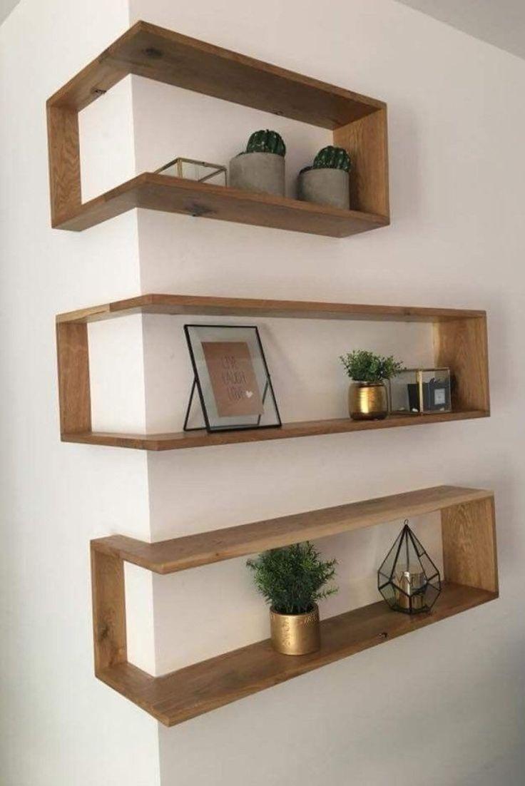 promo – DIY woodworking kit – Hardwood corner shelves