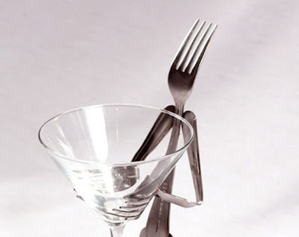 Fork Glass Stand