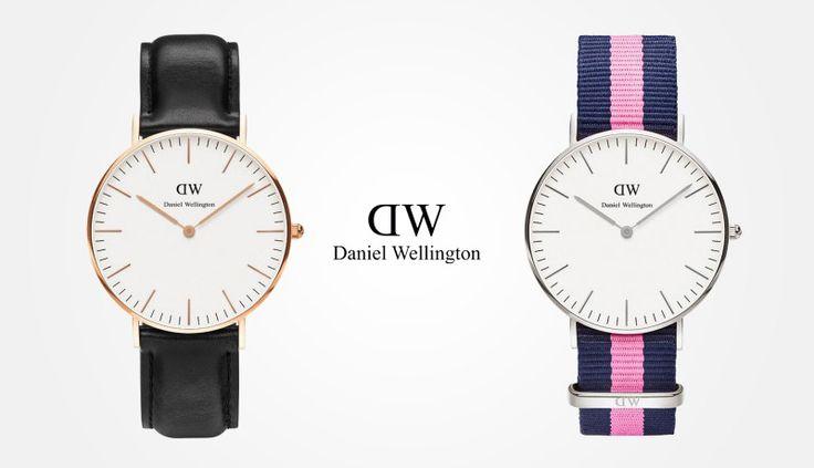 Daniel Wellington women strap watches / Daniel Wellington – dámské náramkové hodinky  #watches #hodinky #elegant #elegantni #naramkove