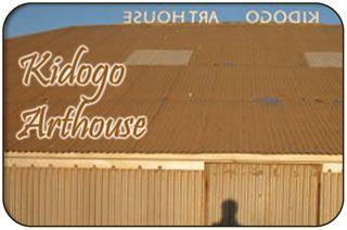 "Kidogo Art Institute & Arthouse  Kidogo Arthouse & Institute""This unique space provides a popular venue for musicians, singer-songwriters, poets and authors to stage performances and exhibitions. The limestone Heritage Listed building that is currently the Kidogo Art Institute and the Kidogo Arthouse was built in 1884 and is perched on the sand dunes a few meters from the sparkling waters edge of Bather's Beach, a truly sublime location perfect for its current use!"""