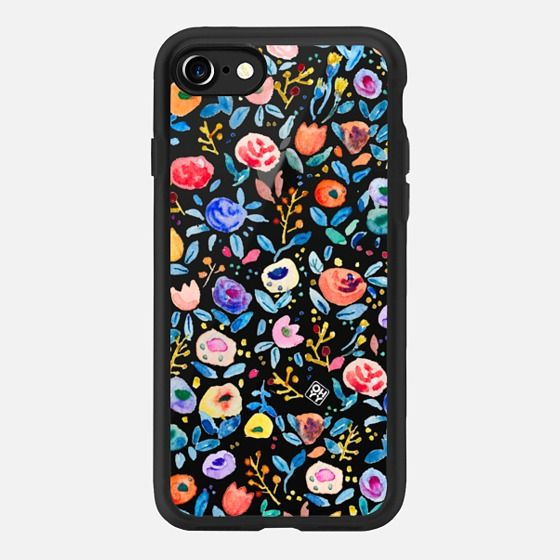 Watercolor give a love day with floral by imushstore - Classic Grip Case