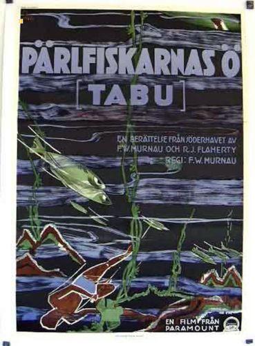 TABU-A-STORY-OF-THE-SOUTH-SEAS-MATAHI-1931-WILHELM-MURNAU-MOVIE-POSTER