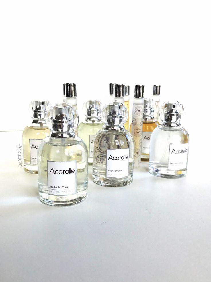 Økologiske parfymer av kun naturlige ingredienser - Acorelle!