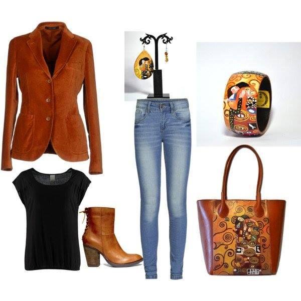 httpwww.pinterest.compin226868899954536102     #borsadipinta #bracciale #paintedbag #orecchini #dipinti #accessori #fashon #outfits #klimt
