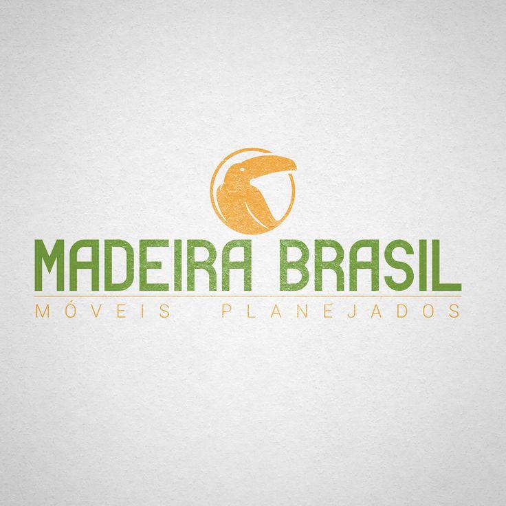 LOGOTIPO MADEIRA BRASIL