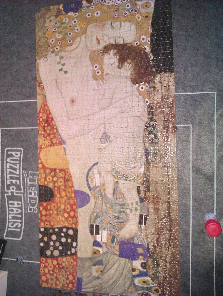 Gustav Klimt - Mother and Child Puzlle - One of my ...