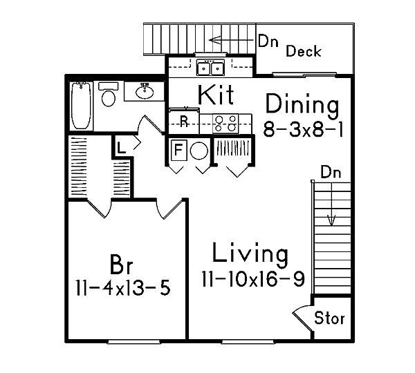 57 best House Garage Plans images – Live Above Garage Plans