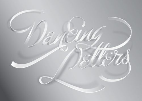 Wow: Dancing Letters, Lettering, Creative Typography Designs 18, Dancingletters Lr, Beautiful Typography, Type, Typography Inspiration, Typographic Design