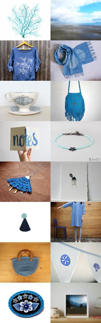 blue notes by lunik on Etsy--Pinned with TreasuryPin.com