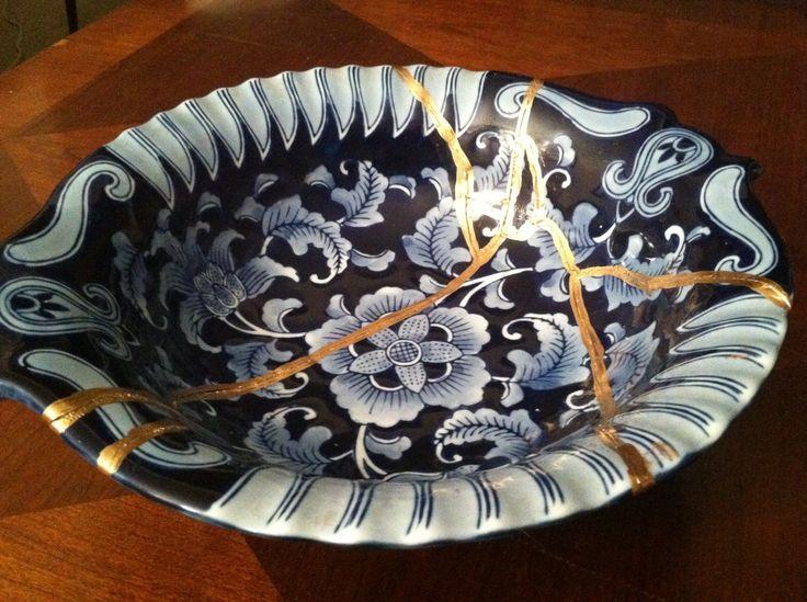 Kintsugi, el arte japonés de reparar objetos rotos @alvarodabril