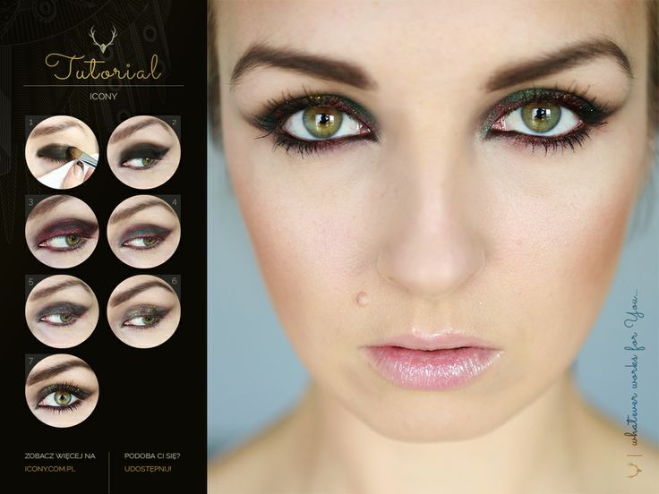 Dark Rainbow #tutorail #makeup #blogicony