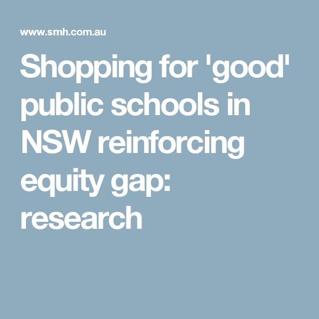 Shopping for 'good' public schools in NSW reinforcing equity gap: research
