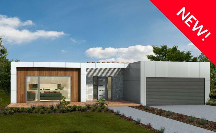 Gippsland - Energy Efficient Home Facade - Green Homes Australia.