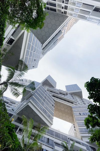 "Located in Singapre, ""The Interlace"" is a creative apartment complex…"