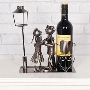 Lucy and Lee Dancing Wine Bottle Holder