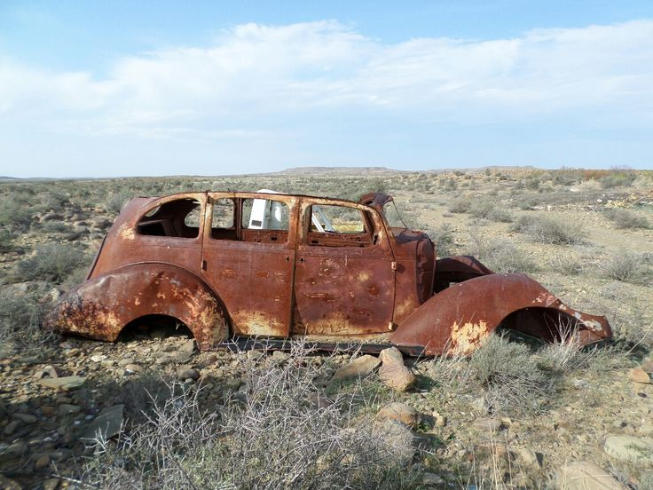 Rusted Car 1 canvas print – House of Crous