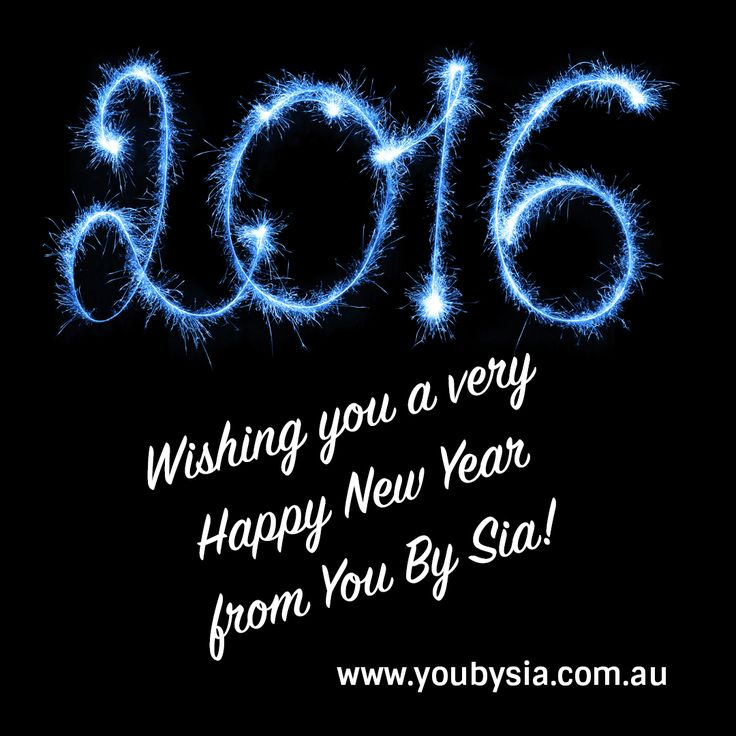 #HappyNewYear2016 everyone! Wishing you the very best for this New year @youbysia