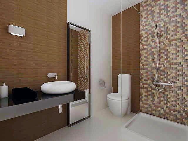 1000  ideas sobre baños de azulejos de color marrón en pinterest ...