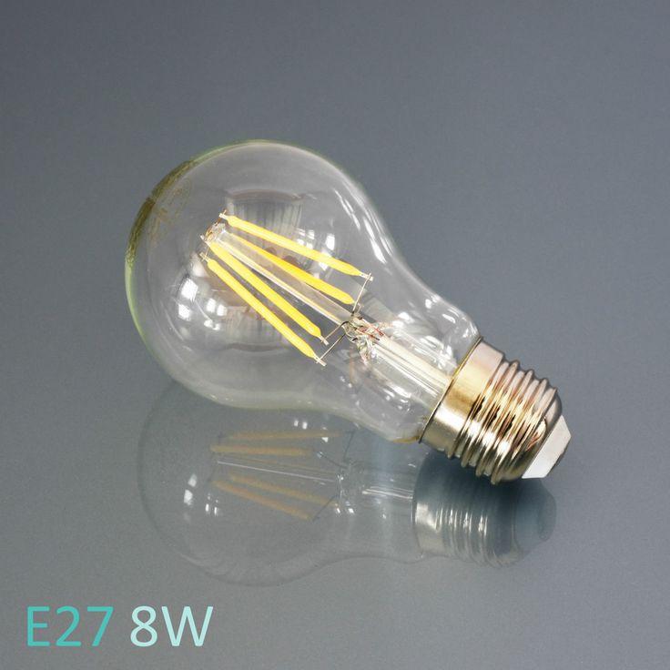 LED Leuchtmittel E27 E14 Lampe Glühbirne Windstoß Kerze Birne Filament Leuchte in Möbel & Wohnen, Beleuchtung, Leuchtmittel   eBay!