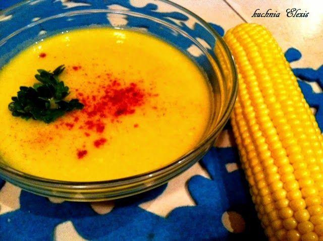 Gotowanie: Zupa krem z kukurydzy