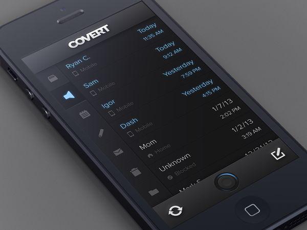 #App #UI #Design, via #Behance #Mobile