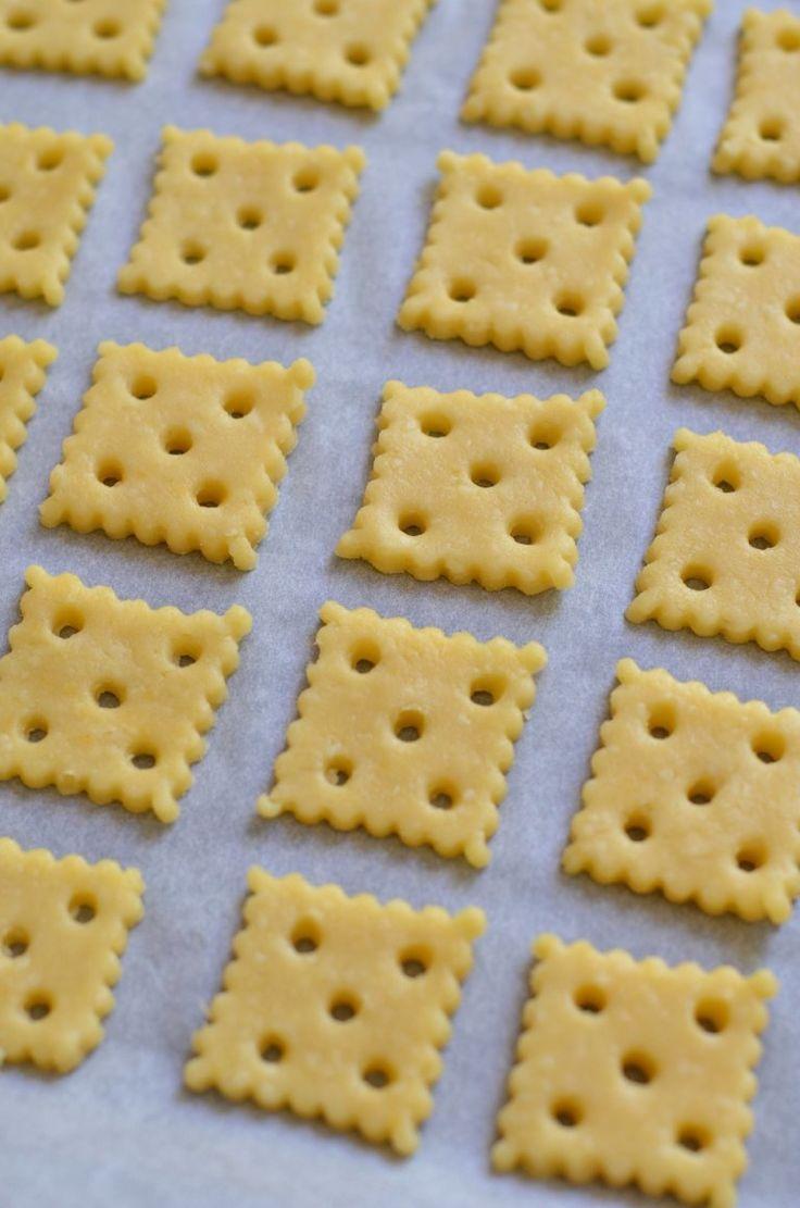 A legfinomabb sajtos kréker 4 hozzávalóból – Rupáner-konyha