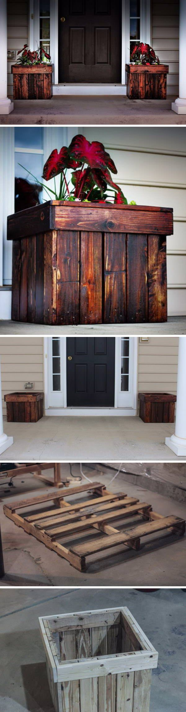 Plants not only make any space more inviting and refreshing, but they are believed to support healthy well-being, too. But if you're tired of clay or ceramic pots, then repurposed wooden pallets are the next big thing.