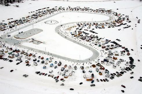 Découvrez le Village sur glace de Roberval!