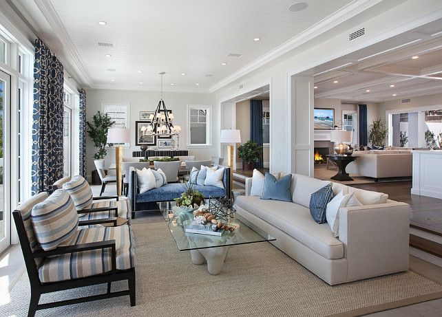 ultimate california beach house with coastal interiors home bunch an interior design luxury homes blog bloglovin home pinterest - Open Floor Plan Living Room And Kitchen