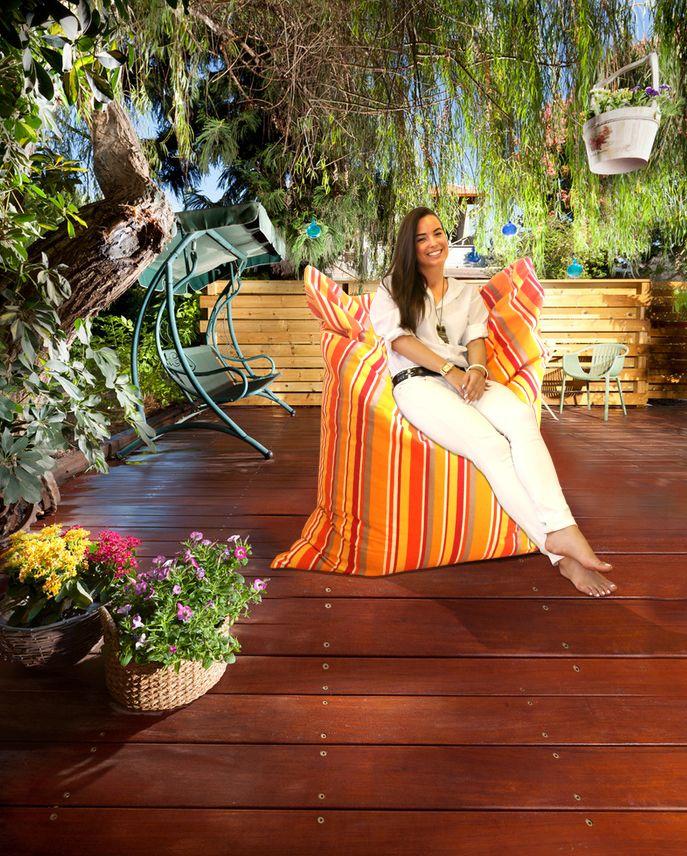 Kültéri babzsák fotel, hogy a szabadban is élvezd a kényelmet :)  #babzsák #design #beanbag
