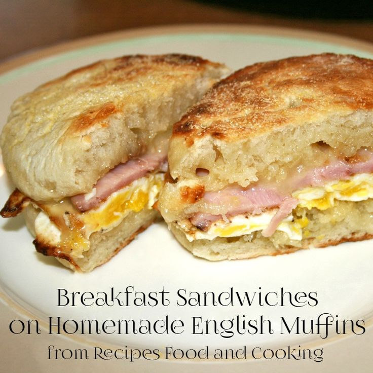 Recipes, Food and Cooking Homemade English Muffins - Recipes, Food and Cooking