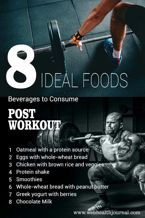 Foods Beverages To Consume Post Workout Post Workout Fitness Tips Workout