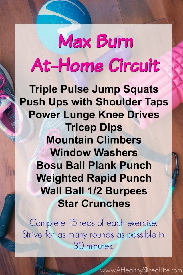 At Home Burn Boot Camp Workout + Progress Pictures