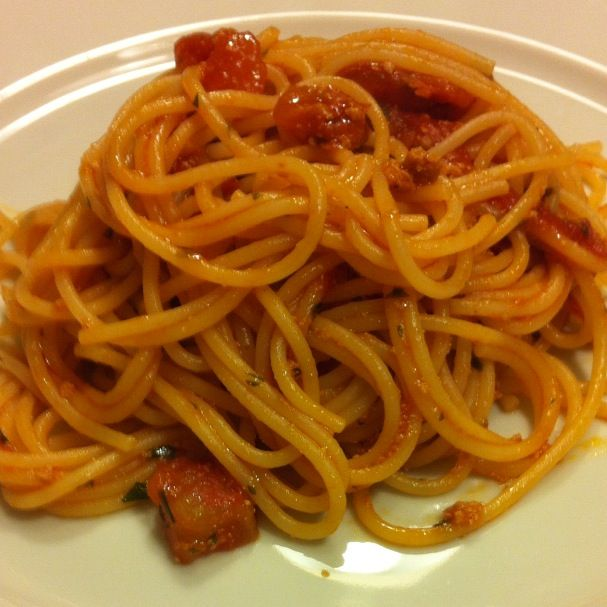 #spaghetti con #bottarga di tonno