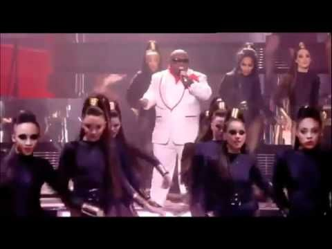 """Forget You""* Cee Lo Green feat. Paloma Faith, at the Brit Awards (2011)"