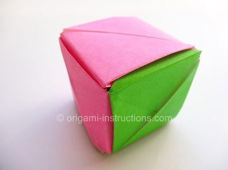 origami magic rose cube lexas pins pinterest cubes
