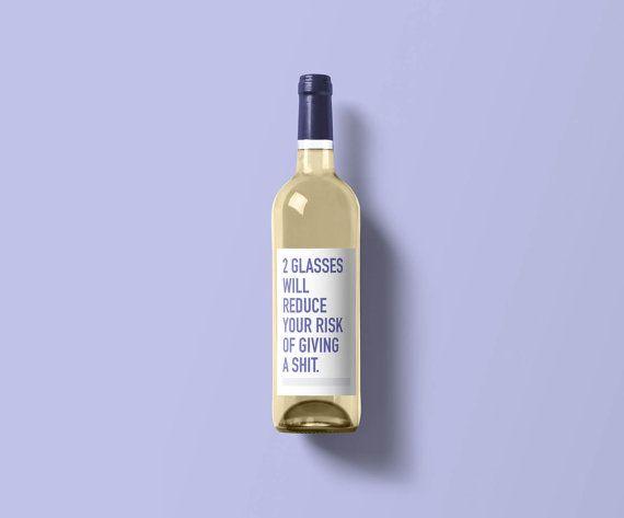 Best  Funny Wine Labels Ideas On   Diy Wine Bottle