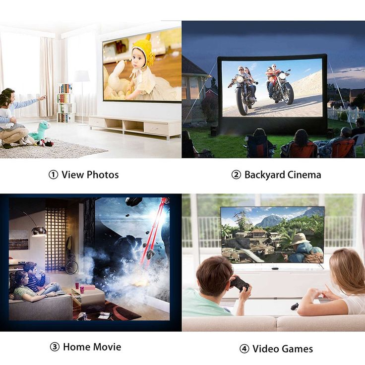 GT-S8 LCD Projector LED 1080P Home Theater EU Sales Online eu - Tomtop
