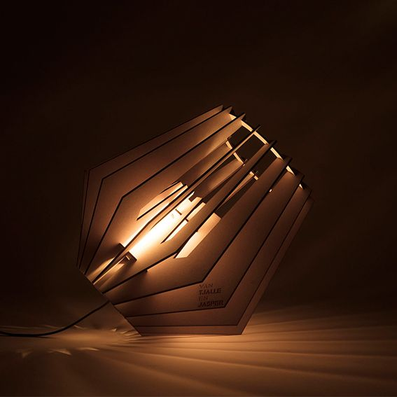 The Spot-nik floor lamp gives beautiful light for a beautiful price.