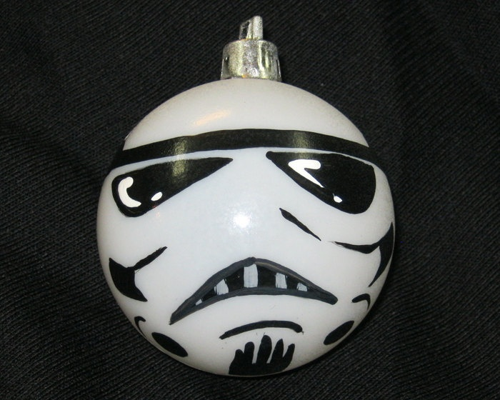 Star wars storm trooper christmas ornament christmas for Castorama deco de noel