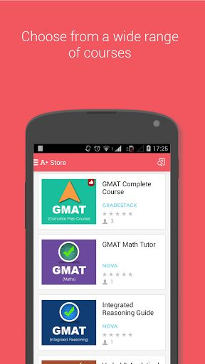 The Free GMAT Prep app provides you an exhaustive course for GMAT math and verbal prep, making your phone your mobile tutor. The GMAT prep course has been built based on the new GMAT syllabus and is designed especially for studying on mobile to help you score to get into the MBA school of your choice. The GMAT Complete Prep exam app covers all aspects of the Graduate Management Admission Test - including study guides, large set of practice questions and vocal flashcards. <p><br><b>Free GMAT…