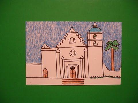 Let's Draw Mission San Luis Rey!   NoArtPhobia4Teachers ...