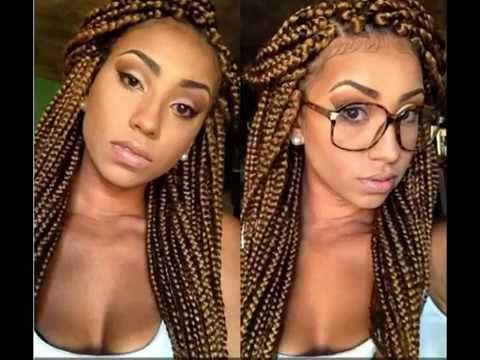 CUTE BRAIDED HAIRSTYLES FOR BLACK GIRLS  2016 HAIRSTYLE TRENDS VIDEO #2