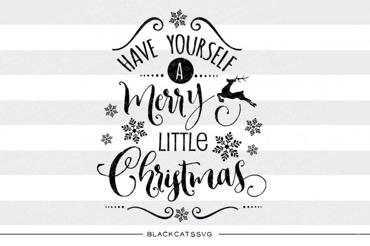 Have Yourself a Merry Little Christmas SVG Files Christmas SVG Cutting Files This is not a vinyl, the file contains only digital files, and no material items will be shipped. SVG file Cutting File Clipart in Svg, Eps, Dxf, Png for Cricut & Silhouette