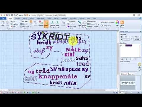 Premier +2 ultra Nyhetsbrev - YouTube | Sew_You Can digitize