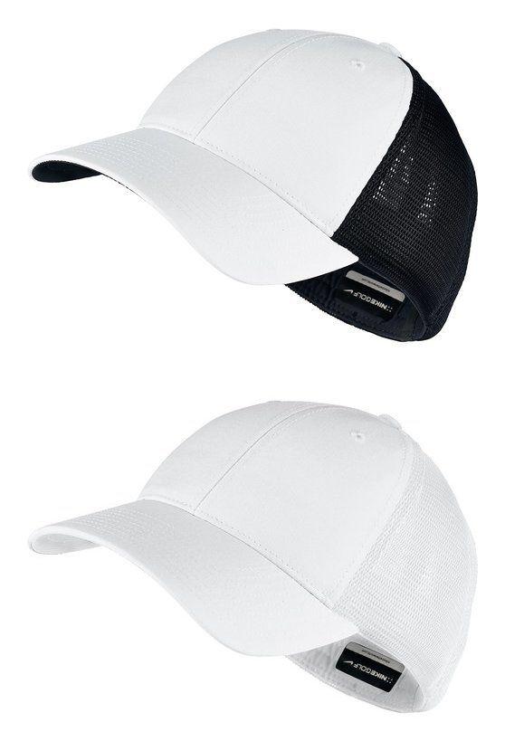 Nike Adults Unisex Legacy 91 Mesh Custom Baseball Cap Black/ White #nike