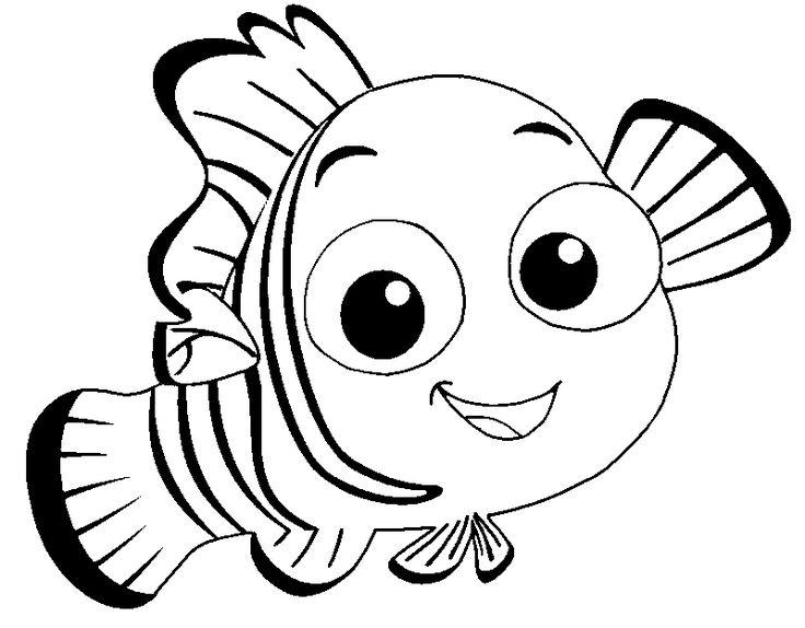 Pin oleh Illustration Designer di Finding Nemo Coloring