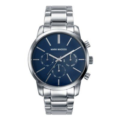 Mark Maddox - Men\'s Classic Stainless Steel Chrono Watch - HM0006-37 - Online Price: £89.00